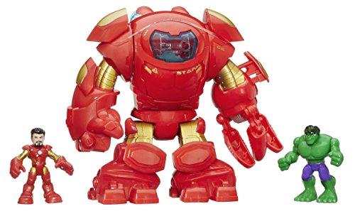 marvel-playskool-heroes-super-hero-adventures-stark-tech-armor-with-tony-stark-figure-multi-colour