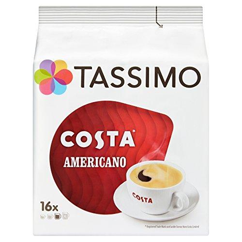 Tassimo Costa Americano Coffee Pods (Case of 5, Total 80 pods, 80 servings) 51wSccoB4jL