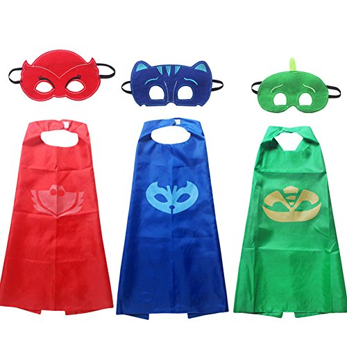 Venlen Tree Super Hero Capes, Masken, Satin
