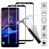 [2 Pack] Galaxy S9 Plus Vetro Temperato, 3D S9 Plus Pellicola Protettiva Alta Definizione,Screen Protector per Samsung Galaxy S9 Plus