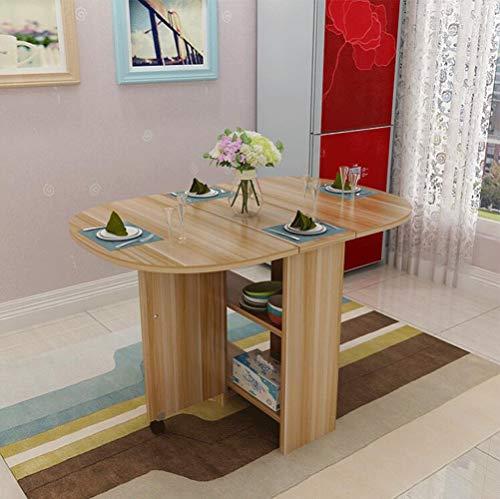HONGHUIYU Tavolo Pieghevole Piano-Permanente scrivania Cucina Tavolo ...