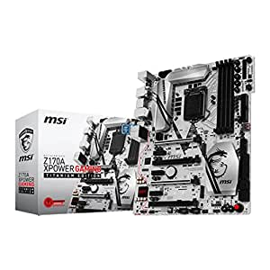 MSI Gaming Z170A XPOWER titanio Ed Intel Z170 S 1151 DDR4 Scheda madre ATX