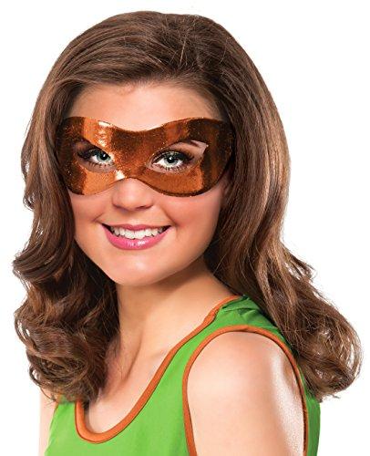Teenage Mutant Ninja Turtles Michelangelo Costume Eye Mask Adult One Size