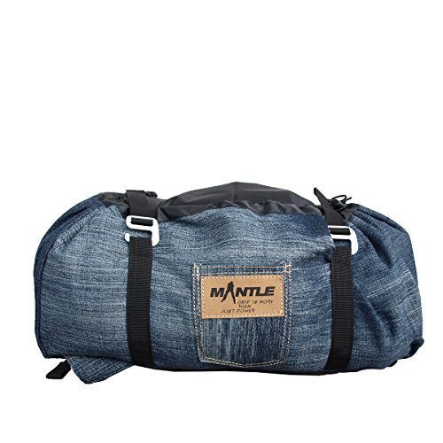 Mantle Kletterzubehör Seilsack, Jeans, L, 6002