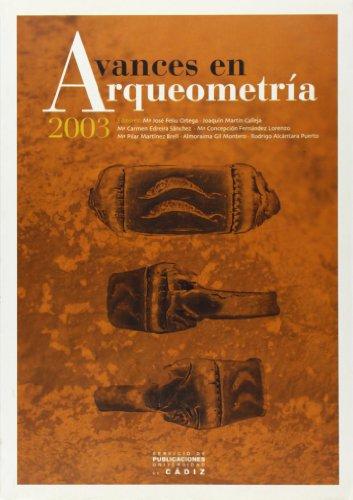 Portada del libro Avances en arqueometría 2003