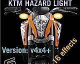 #4: Delhitraderss PnP Hazard Light/Flasher V4×4 V16n For KTM RC-200