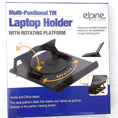 verschiedenen Positionen neigbar 360Grad verstellbar flexibel drehbar Laptop-Halter Ständer Boden auch Tablet, BOOK (Note Kleiderbügel)