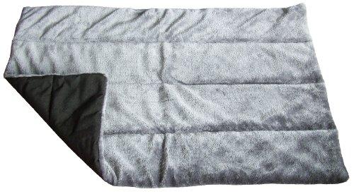 hundeinfo24.de A.K. for Pets 18037 Hundedecke, 88 x 60 cm, Luxe grau