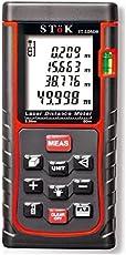 Stok (0.05 To 40 / 50 Meters)Laser Rangefinder/ Distance Measuring Meter ,Tape 0.05 To 40 M / 50 M (0.16 To 164Ft (50 Meter)