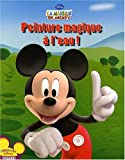 Image de Peinture magique à l'eau ! : La maison de Mickey