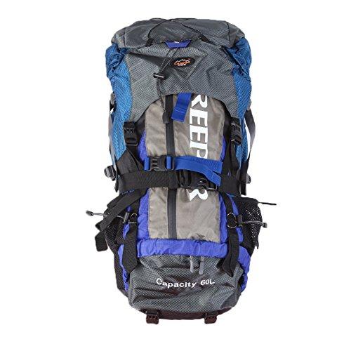 Sacchetto di alpinismo esterno 60L Zaino Trekking campeggio impermeabile Trekking