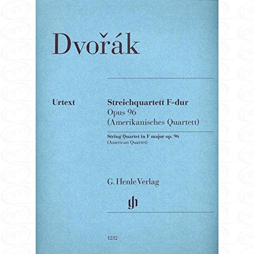 Quartett F-Dur op 96 (Amerikanisches Quartett) - arrangiert für Streicher - Quartett [Noten/Sheetmusic] Komponist : Dvorak Antonin