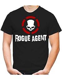 Rogue Agent T-Shirt | Dark | Zone | The Division | Herren | Männer | Schwarz | Spiel | PC | Konsole