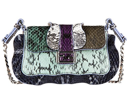 Fendi-womens-leather-shoulder-bag-original-micro-baguette-elaphe-multi-waves-bl