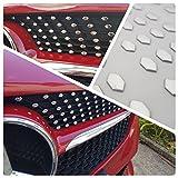 A Classe W176 W117 CLA GLC Diamond Sports Grill Chrome Stickers