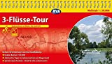 Kompakt-Spiralo BVA 3-Flüsse-Tour Radrundtour an Rhein, Ahr und Erft Radwanderkarte 1:50.000