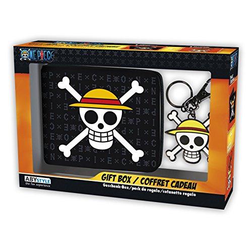 ABYstyle-Monedero Llavero One Piece Calavera Sombrero