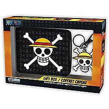 ABYstyle - Monedero con Llavero de One Piece con Calavera y Sombrero de  Luffy 332b91ff47e