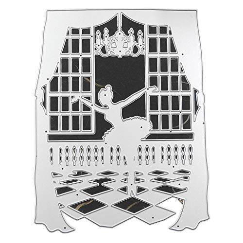 Xurgm Ballet Girl - Fustella per scrapbooking, in metallo, per decorazioni natalizie