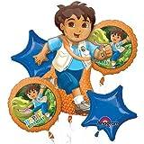 Go-Diego-Go-Dora-The-Explorer-Mylar-Foil-Balloon-Set-Bouquet
