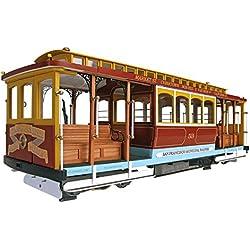Maqueta en madera: Tranvía de San Francisco California Street