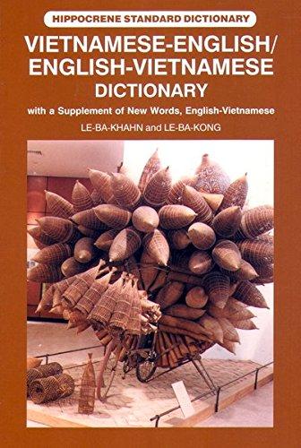 Wörterbuch Vietnamesisch - Englisch/Englisch - Vietnamesisch Vietnamese-English/English-Vietnamese Dictionary mit Lautschrift fürs Vietnamesisch. und Ausdrücke (Livre en allemand) par Le Ba Khahn