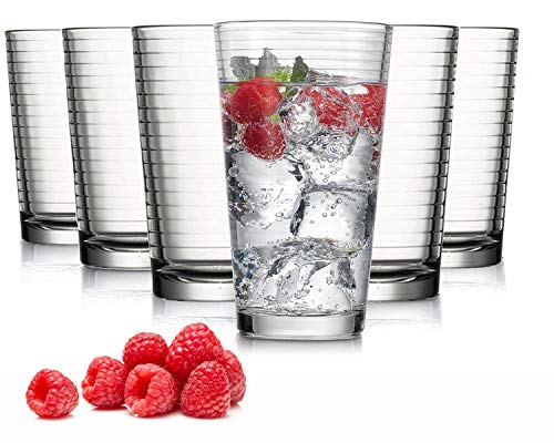 Tivoli Vasos Agua Madrid - Set 6 - Vasos Apto lavavajillas