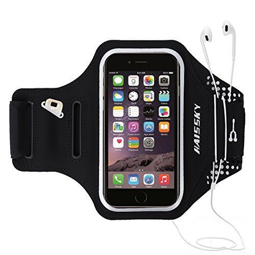 1dcc7e9cdf5 Guzack Armband for iPhone 8 Plus/iPhone X, Sports Running Armbands Workout  Cell Phone