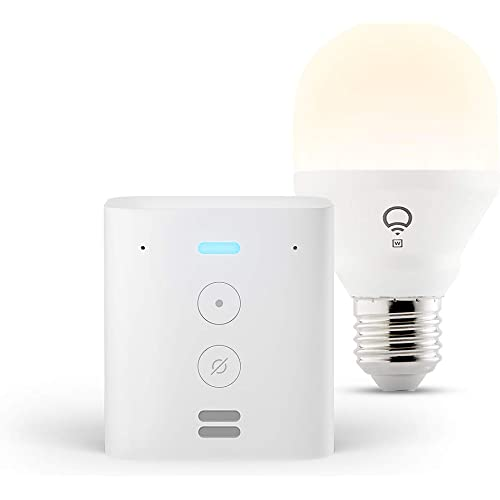 Echo Flex + lampadina intelligente LIFX White, compatibile con Alexa