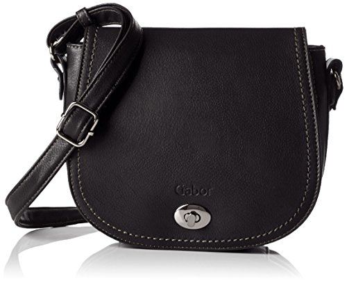 - 51wSyoBR3wL - Gabor Paula, Women's Cross-Body Bag, Schwarz, 23x18x8.5 cm (wxhxd)