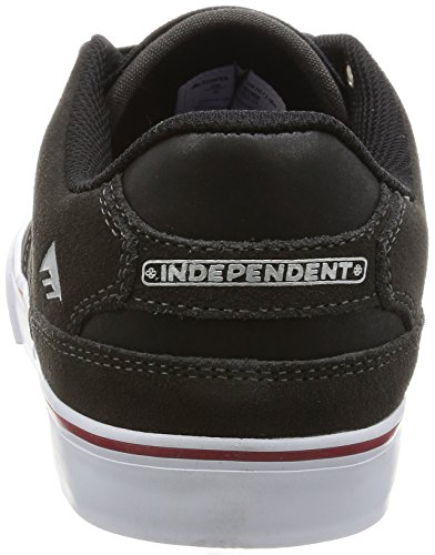 Emerica The Reynolds Low Vulc, Chaussures de skateboard homme Grey