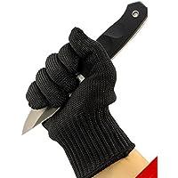 Cut Guanti da cucina, guanti da lavoro di sicurezza alimentare Builders Grip Giardinaggio Nero Proteggere Guanti