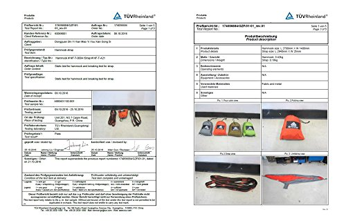 NatureFun Tragbare 300*140cm Ultra-Leichte 100% Fallschirm-Nylon R - 6