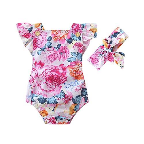 feiXIANG Conjunto de Ropa Infantil para bebés recién Nacidos Niños niña niña...