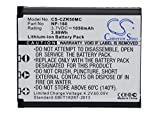cameron sino 1050mah li-ion high-Capacity Replacement Batteries for casio exilim ex-zr50, exilim ex-fc500, exilim ex-zr55, exilim ex-zr60, exilim ex-zs220, fits casio np-160