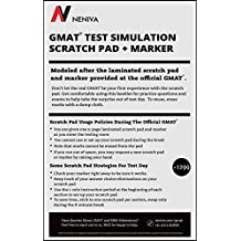 GMAT Test Simulation - Laminated Scratch Pad with Marker