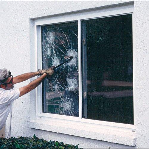 8 Mil Security Window Film 60 Wide x 6.5 ft. Roll by GordonGlass - Windows-security-film