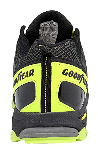 Goodyear 1503édition spéciale S1P–SRA–Chaussures de sécurité sans métal Schwarz-Neongrün