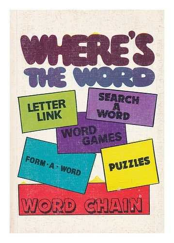Where's the word : Letter Link -- Search a Word -- Form a Word.