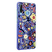 Huawei P30 Lite - PC Case, Floral Blue
