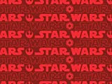 Camelot Stoffe Star Wars Logo Popeline Quilting Stoff,
