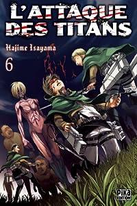 """Afficher """"L'attaque des titans n° 6"""""""