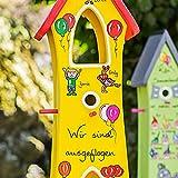 VOFA - Holz und Design Kindergarten Abschiedsgeschenk, Kindergartenabschied Geschenk, Lehrerin Erzieherin, Zuckertütenfest Grundschule