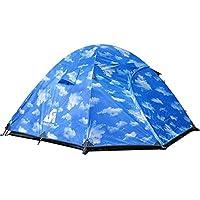 AiNaMei Carpa de aluminio para acampar al aire libre 3 Personas