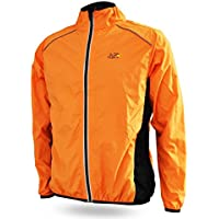 Outdoor Riding Breathable Reflective Cycling Jacket Bike Bicycle Windcoat Super Light