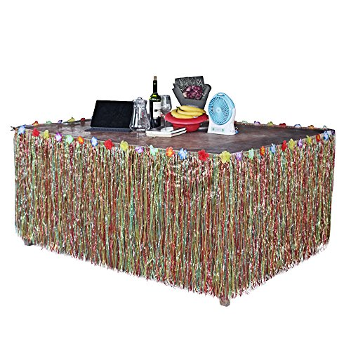 BEETEST-Hawaiano-estilo-de-la-hierba-de-la-falda-de-la-mesa-de-accesorios-con-flores-artificiales-decoracin-para-fiesta-de-cumpleaos-Festival-de-carnaval-graduacin-celebracin-bodas