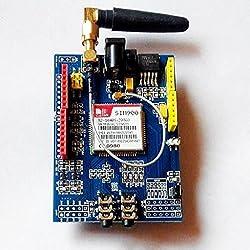 SIM900 GPRS 850/900/1800/1900 MHz / GSM Módulo de Placa de desarrollo para Arduino