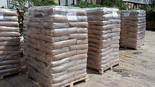 Preisvergleich Produktbild Holzpellets 6mm DINplus/ÖNorm Premium 4 Paletten 65 Sack a 15kg /3900 Kg