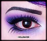 Kontaktlinsen Hell Raiser (Paar)