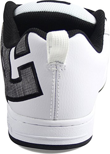 DC Shoes Court Graffik, Chaussures de skate homme white